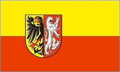 U24 Motorradflagge Landkreis Goslar Fahne Flagge 20 x 30 cm