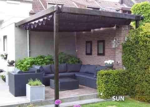 Sunfighter vela de sombra ondulada 2.9x3 negra: Amazon.es: Jardín