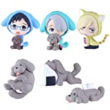 Yuri! on ICE swing mascot collection Chara desire orumu BOX product 1 BOX = 6 pieces, all six