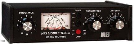 MFJ Enterprises Original MFJ-945E 1.6 ~ 60 MHz Mobile Antenna Tuner w/ Watt Meter & Antenna Bypass Switch. 300 Watts by MFJ