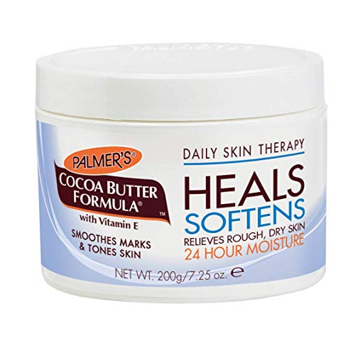 Palmer's Cocoa Butter Formula Daily Skin Therapy Body, Solid Formula Lotion Jar, 7.25 oz