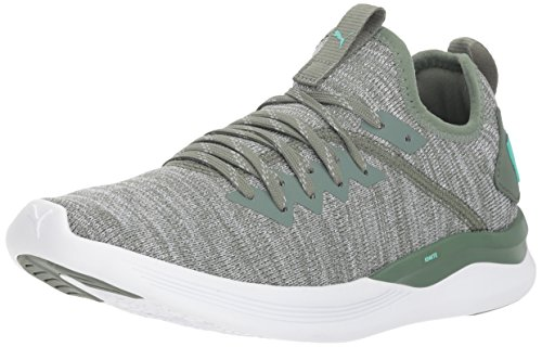 Sneaker Women's Ignite Laurel quarry PUMA Evoknit biscay Wreath Green Flash FIdFxqf