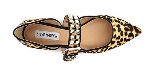 A N Steve Madden Pixel Leopard Ballerina PWZqfB