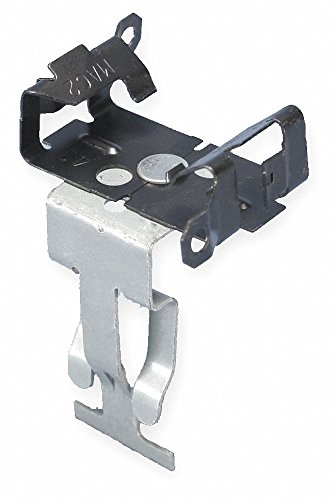 Cable Flange Clip, Spring Steel, 1 EA, Pack of 10