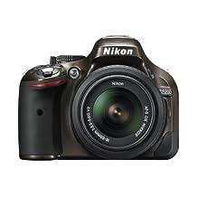 Nikon D5200 24.1 MP CMOS Digital SLR with 18-55mm f/3.5-5.6 AF-S DX VR NIKKOR Zoom Lens (Bronze) (Discontinued by Manufacturer)
