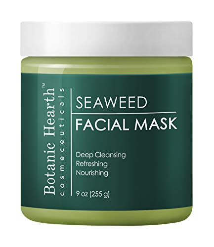 (Botanic Hearth Seaweed Facial Mask, Superior Hydrating Face Mask Promotes Healthy Skin, 9 oz)