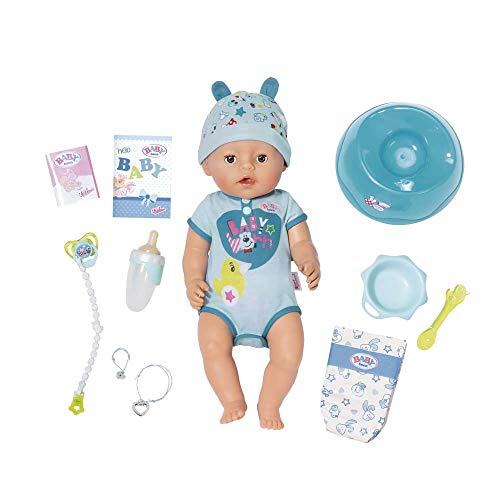 Baby Born Lifelike Truly Real Interactive Baby Boy Annabell Doll