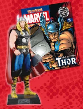 Classic Marvel Figurine Collection and Magazine #15 (Classic Marvel Magazine)