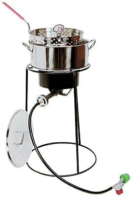 King Kooker 22PKPTS 22-Inch Outdoor Cooker Set