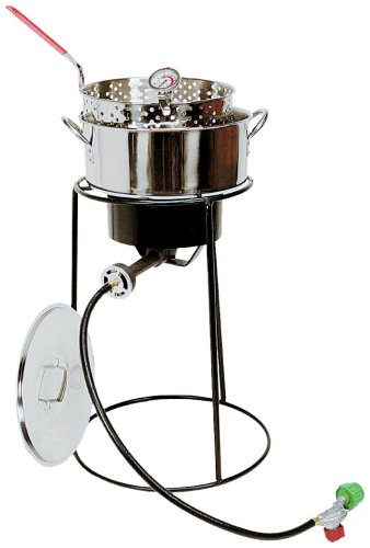 King Kooker 22PKPTS 22 Inch Outdoor Cooker Set