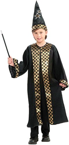 America Deluxe Wizard Dress - Forum Novelties Deluxe Wizard Boy Costume, One Size