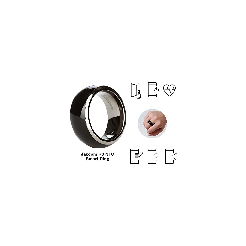 Jakcom R3 NFC Smart Ring Electronics Mobile Phone Accessories Compatible with Android iOS SmartRing Smart Watch