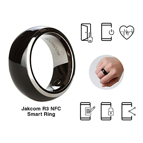 Jakcom R3 NFC Smart Ring Electronics Mobile Phone Accessories compatible with Android IOS SmartRing Smart Watch ()