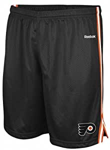 Philadelphia Flyers Reebok Black Adult Rookie Mesh Short (XXL)