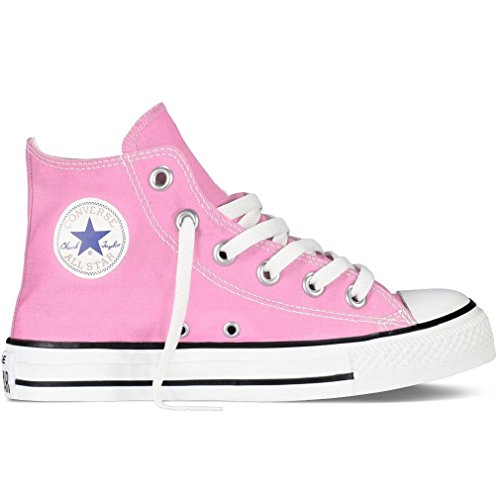 (CONVERSE ALL STAR CHUCK TAYLOR HI TOP PINK 7J234 UNISEX INFANT TODDLER SHOES US SIZE)