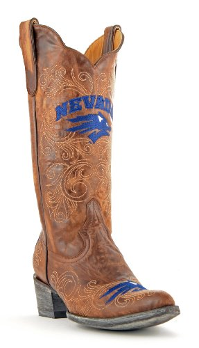 Ncaa Nevada Wolf Pack Womens 13-inch Gameday Boots Messing