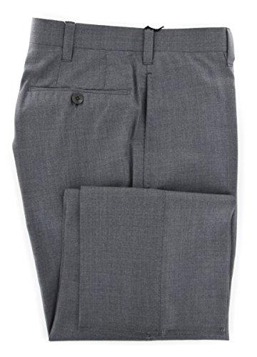 cesare-attolini-gray-solid-pants-slim-30-46