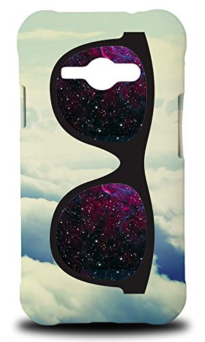 e Glasses #14 Hard Phone Case Cover for Samsung Galaxy J1 Ace ()