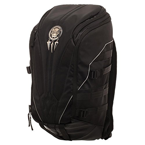 Marvel Black Panther: Get This Man A Shield Backpack,Black,One Size from Bioworld