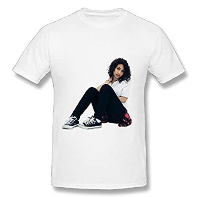 Alessia Cara Know-It-All Tour 2016 Design Mens T-Shirts White