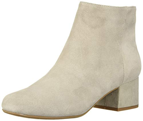 Road Stop - Kenneth Cole REACTION Women's Road Stop Block Heel Ankle Bootie Boot, Taupe, 7.5 M US