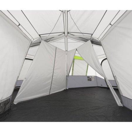 Attirant Amazon.com: Ozark Trail 12 Person 3 Room Instant Cabin Tent With Screen Room  (Green): Sports U0026 Outdoors