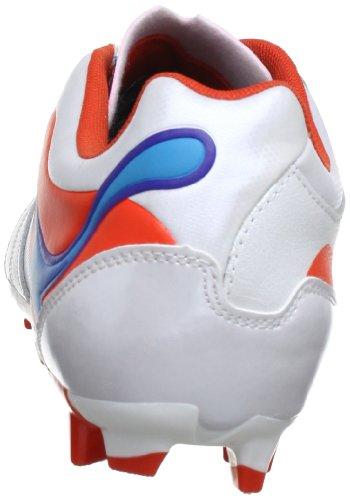 Puma Powercat 3 Fg Mens Läder Fotboll Stövlar / Dubbar-vit-9,5