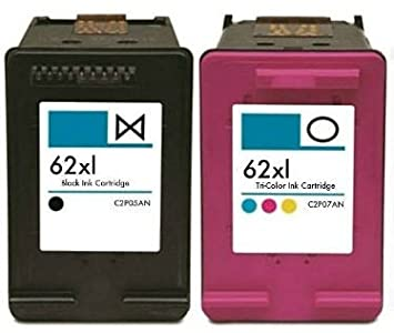 Printing Pleasure 2 XL Compatibles HP 62XL Cartuchos de ...