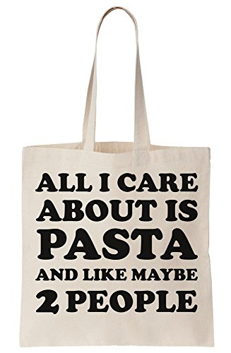 Maybe Canvas I Care Like All Is And Rights Pasta About Tote People Bag 2 Z81PPwFTqR