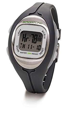 Solo Heart Rate Monitor Watch - Champion Solo 915 Women's Heart Rate Monitor with ANY-TOUCH Technology- Allows You to Touch Anywhere on the Stainless Steel Case and See Your Heart Rate Instantly