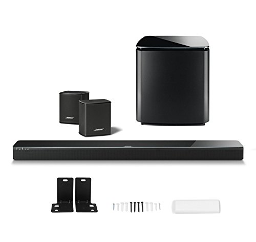 authentic bose soundtouch 300 soundbar w wireless acoustimass 300 bass module wireless. Black Bedroom Furniture Sets. Home Design Ideas