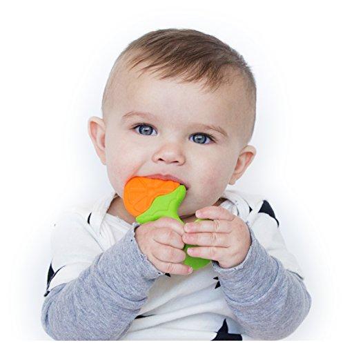 Nuby Fruity Straight Handle Teether
