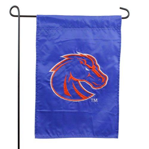 (Boise State Broncos Logo Applique Garden Flag )