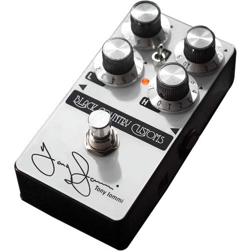 TI Boost Black Country Customs Tony Iommi 50th Anniversary Boost Guitar Effects - Boost Treble