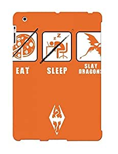 New Eat Sleep Slay Dragons Tpu Case Cover, Anti-scratch Crazinesswith Phone Case For Ipad 2/3/4