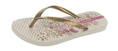 Ipanema Tropic Frauen Flip-Flops / Sandalen GOLD|NATURAL