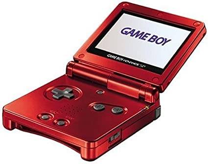 Amazon.com: Game Boy Advance SP - Flame (Renewed): Video Games