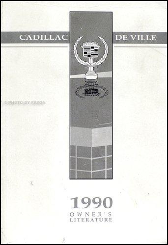 1990 Cadillac Deville Original Owner's Manual