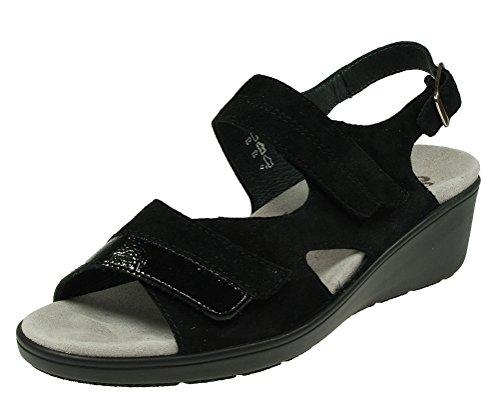 Semler Sandale schwarz