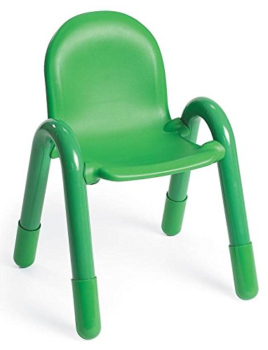 Angeles 13 in. Chair in Shamrock Green - Chair Baseline Angeles