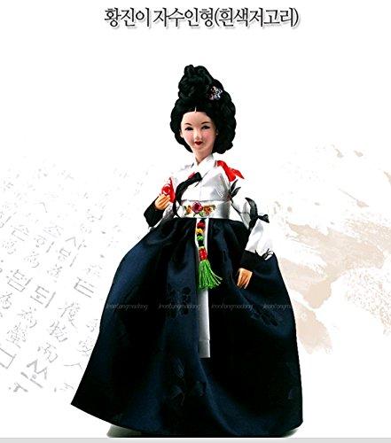 13 Korean Beauty Barbie Doll Hanbok Traditional Charming Femme Fatale Handmade