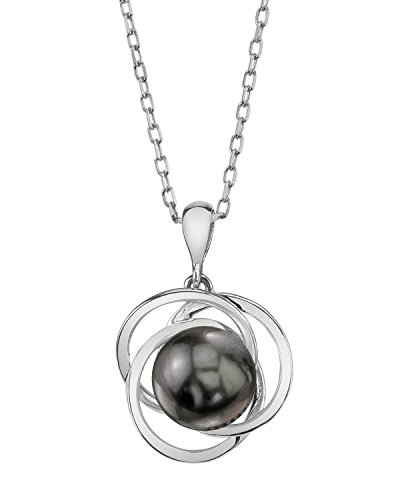 14K Gold Tahitian South Sea Cultured Pearl Lexi Pendant Necklace - AAA Quality