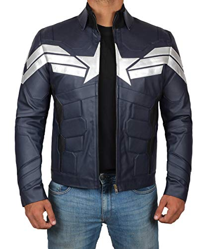 (Decrum Superhero Costume Jacket for Mens | Winter,)