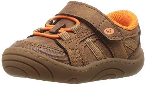 Stride Rite Boys' SR-Bert Sneaker, Brown, 3.5 M US Infant (Baby Shoes Stride Rite Boys)