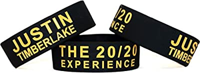 1 Justin Timberlake the 20/20 Experience One Inch Silicone Wristband