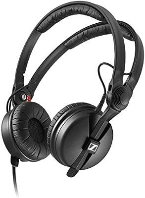 Sennheiser HD 25-1-II Basic Edition - Auriculares de diadema cerrados, color negro