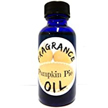 Pumpkin Pie 1oz Blue Glass Bottle Premium Grade A Fragrance Oil, Skin Safe Oil, Candles, Lotions Soap & More