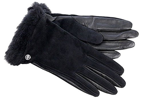UGG Women's Classic Suede Smart Glove 14 Black SM