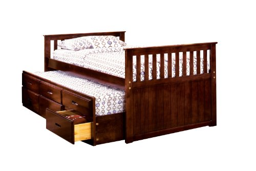 Furniture America Mission Trundle Drawers product image