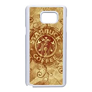 Starbucks For Samsung Galaxy Note 5 Cell Phone Case White BTRY18025